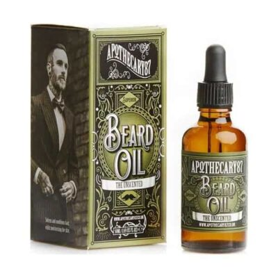 Ulei de barba Apothecary 87 The Unscented 50 ml