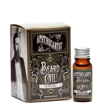 Ulei de barba fara parfum APOTHECARY 87 THE UNSCENTED BEARD OIL 10 ml