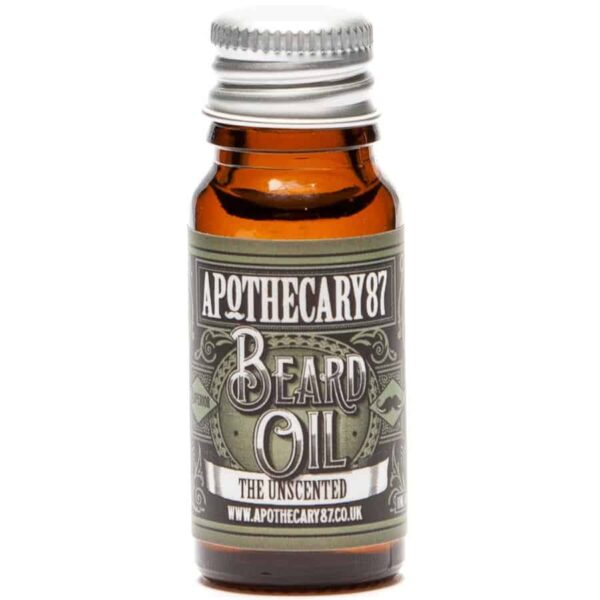Ulei de barba APOTHECARY 87 THE UNSCENTED 10 ml