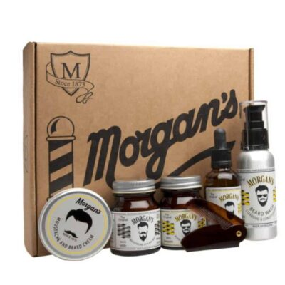 Set cadou ingrijire barba Morgan's Gentleman's Moustache & Beard Grooming Gift Set 1