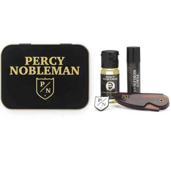 Set ingrijire barba Percy Nobleman Travel Tin