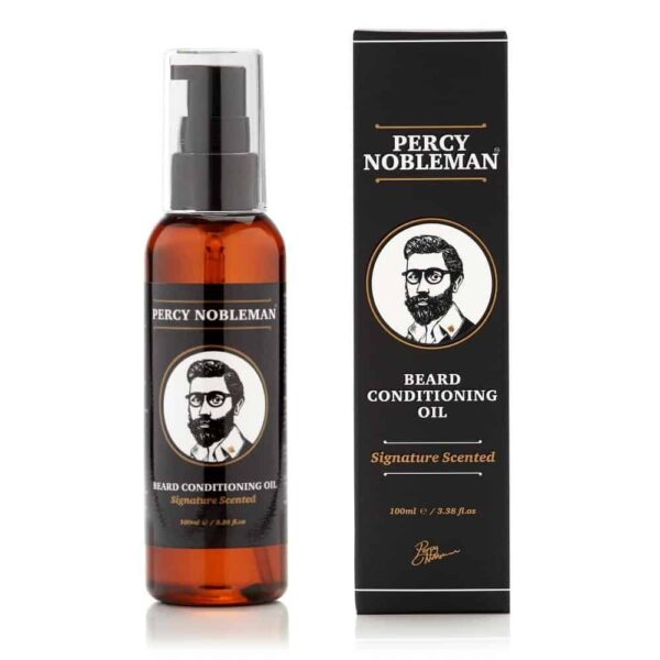 Ulei de barba PERCY NOBLEMAN SIGNATURE SCENTED 100 ml