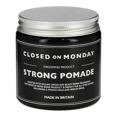 Pomada CLOSED ON MONDAY STRONG POMADE 100 ml