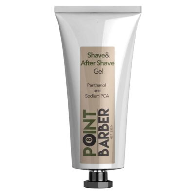 Gel de ras si after shave POINT BARBER