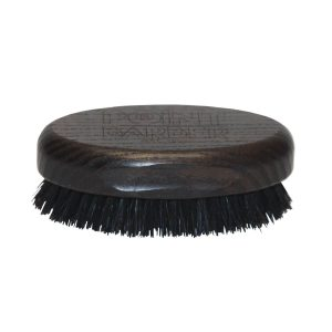 Perie de barba mica POINT BARBER SMALL OVAL WENGE BRUSH