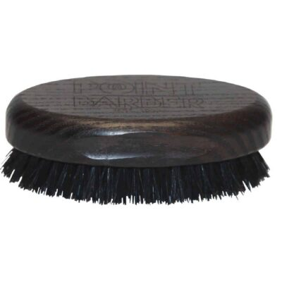 Perie de barba mare POINT BARBER BIG OVAL WENGE BRUSH