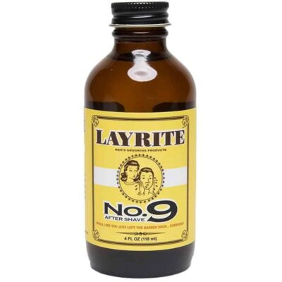 After shave LAYRITE NO. 9