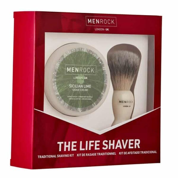 Set cadou barbierit MEN ROCK THE LIFE SHAVER – SICILIAN LIME