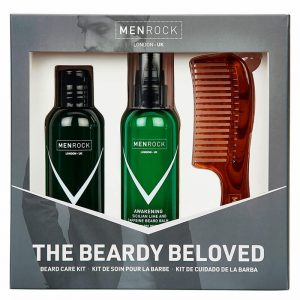 Set cadou ingrijire barba Men Rock Awakening Beardy Beloved Starter
