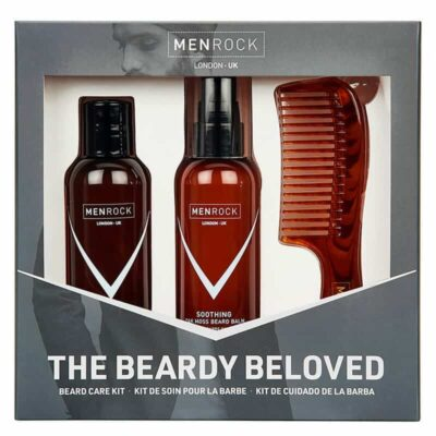 Set cadou ingrijire barba Men Rock Oak Moss Beardy Beloved Starter