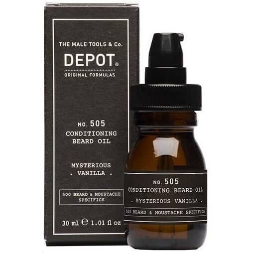 Ulei de barba Depot Mysterious Vanilla Conditioning Beard Oil No. 505 2