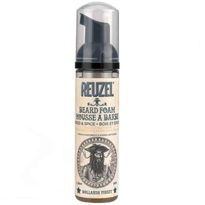 Spuma de barba Reuzel Beard Foam Wood & Spice 70 ml