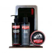 Set Uppercut Deluxe Grooming Kit Deluxe Pomade 1
