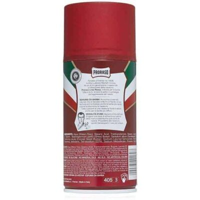 Spuma de barbierit Proraso Sandalwood & Shea Butter Shaving Foam 300 ml 1