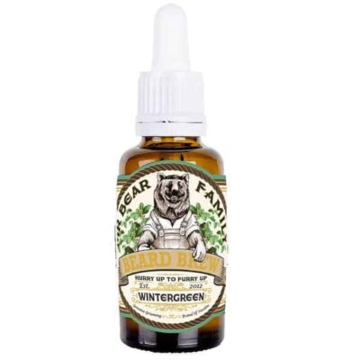 Ulei de barba Mr Bear Family Wintergreen 30 ml