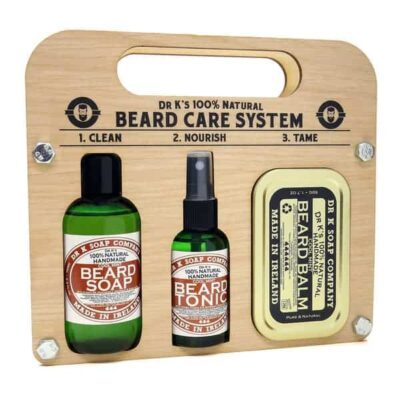 Set ingrijire barba Dr. K Cool Mint Beard Care System