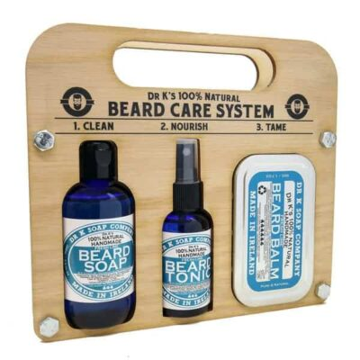 Set ingrijire barba Dr. K Fresh Lime Beard Care System