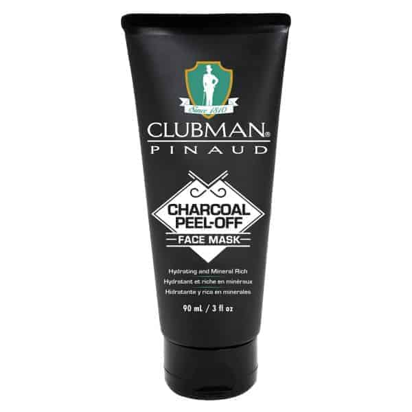 Black Mask Clubman Pinaud Charcoal Peel-Off Face Mask 90 ml
