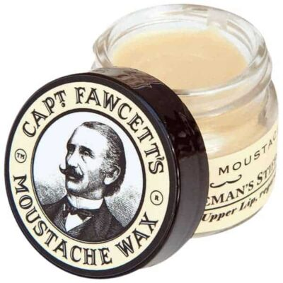 Ceară de mustață Captain Fawcett's Sandalwood Moustache Wax 15 ml