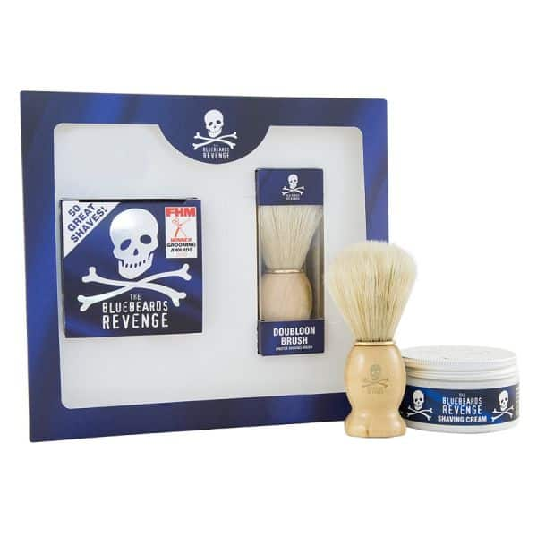 Set cadou The Bluebeards Revenge Shaving Cream and Doubloon Brush Kit