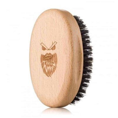 Perie de barbă Angry Beards Wooden Beard Brush Harden