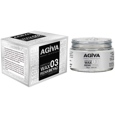 Agiva Hair Color Wax 03 Beyaz - 120 gr