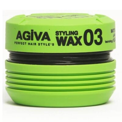 Ceară de păr Agiva Hair Wax 03 Matte Look 175 ml