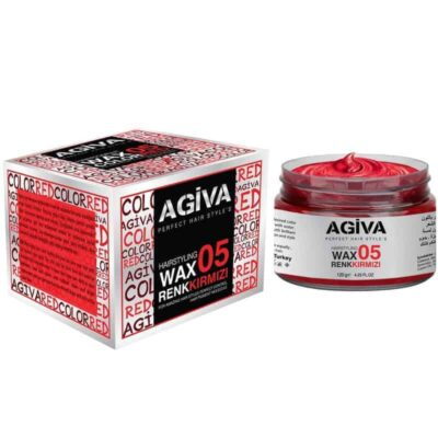 Ceară de păr colorată Agiva Hair Color Wax 05 Red 120 gr