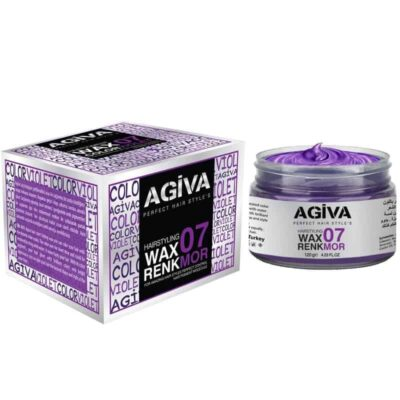 Ceară de păr colorată Agiva Hair Color Wax 07 Violet 120 gr