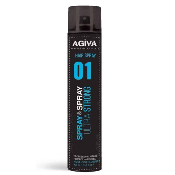 Fixativ Agiva Hair Spray 01 Ultra Strong 400 ml