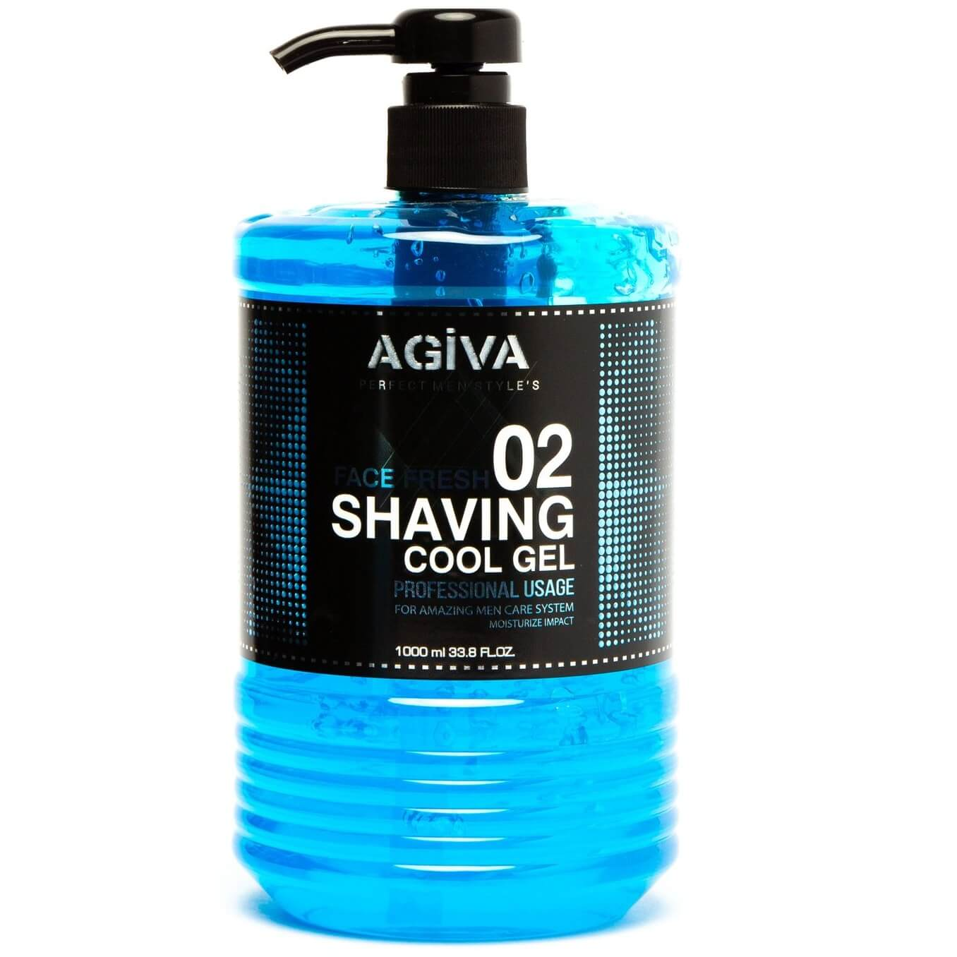 Gel de ras Agiva Shaving Gel 02 Cool 1000 ml