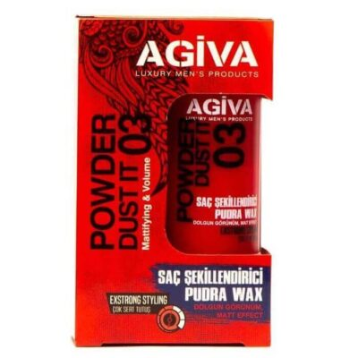 Pudră de volum Agiva Hair Styling Powder Wax 03 20 g
