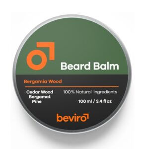 Balsam de barbă Beviro Bergamia Wood 100 ml
