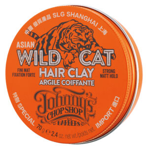 Ceară de păr Johnny's Chop Shop Wild Cat Hair Clay 70g