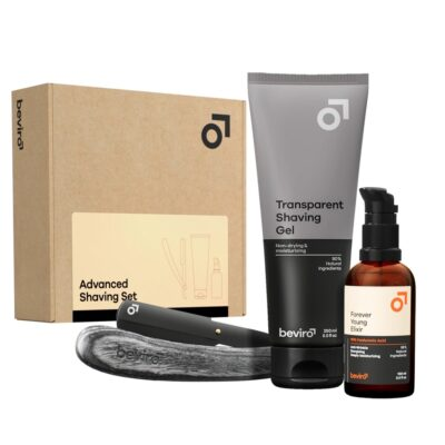 Ser cadou bărbierit Beviro Advanced Shaving Gift Set