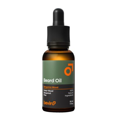 Ulei de barbă Beviro Bergamia Wood Beard Oil 30 ml