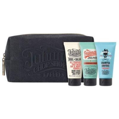 Set cadou Johnny's Chop Shop Road Trippin Wash Bag Gift Set