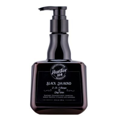 Șampon și gel de duș 2-in-1 Hunter1114 Black Diamond 250 ml