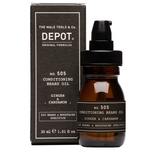 Ginger & Cardamom Conditioning Beard Oil No. 505