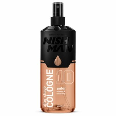 After Shave Colonie Nishman 10 Amber 400 ml