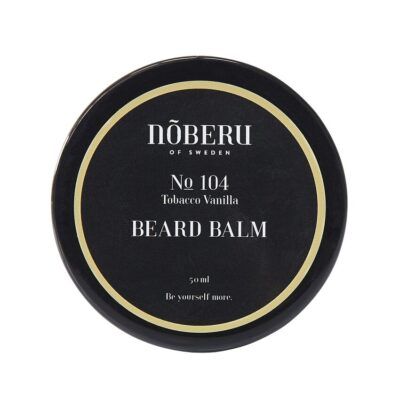 Balsam de barbă Noberu of Sweden Tobacco Vanilla 50 ml