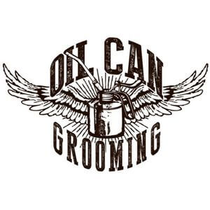 oil can grooming logo